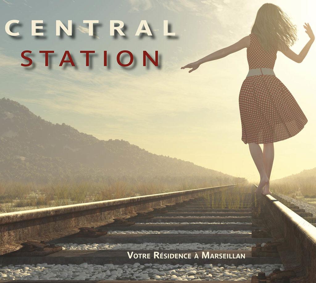 Résidence Central Station à Marseillan
